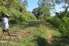 railway tracks outside of Ella
