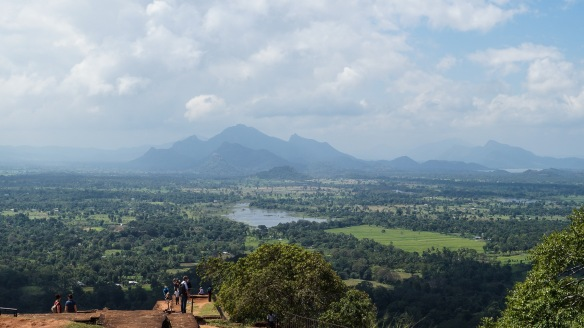 looking south from Sigiriya summit