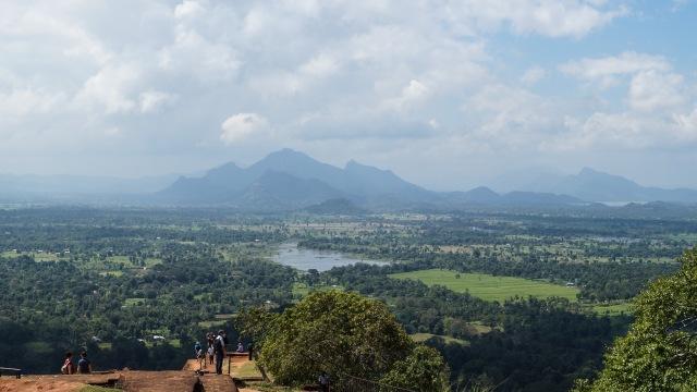 looking south from Sigiriya summit