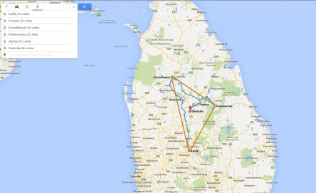 """Sri Lanka's """"Cultural Triangle"""""""