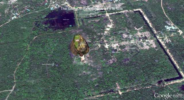The Site of Ancient Sigiriya Today
