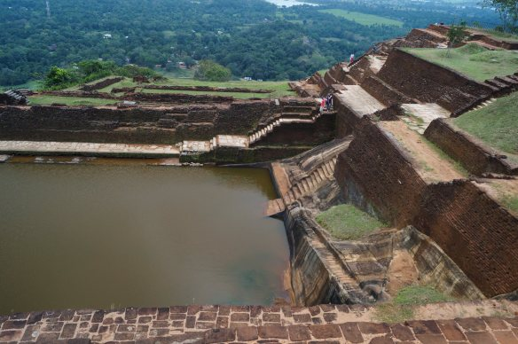 the tank on Sigiriya summit