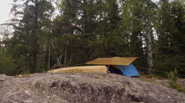 Butland Lake campsite