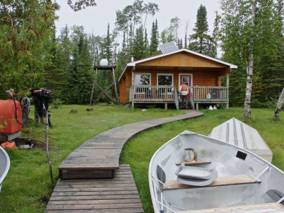 the Auger Lake outpost