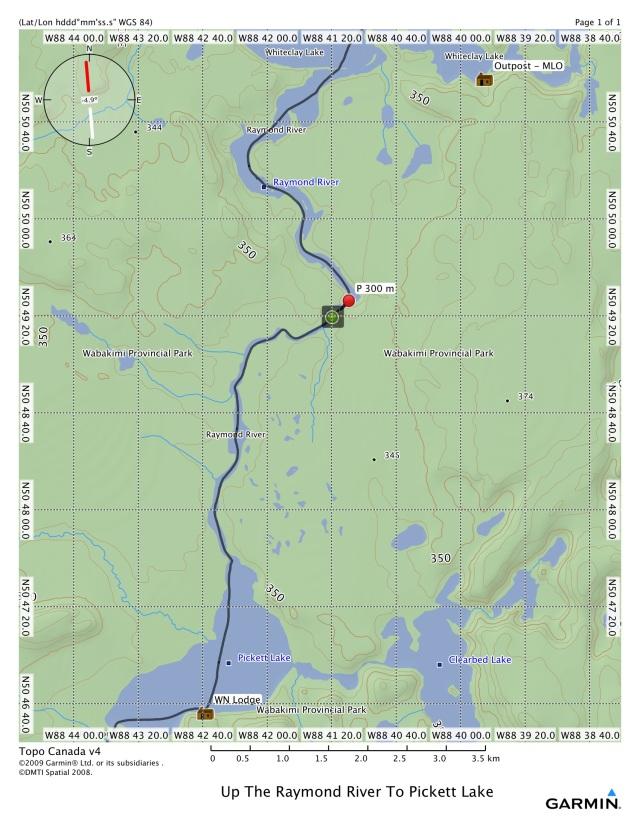 Up The Raymond River to Pickett Lake