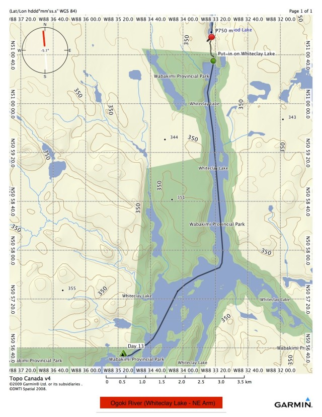 Whiteclay Lake - NE Arm