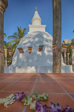 Ambasthala Dagoba altar