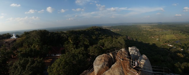 view from the top of Aradhana Gala