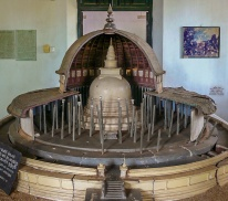 A model of the Vatadage of Anuradhapura's  Thuparama