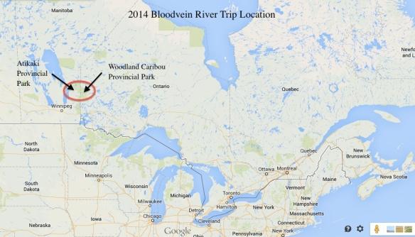 Atikaki & Woodland Caribou Provincial Parks