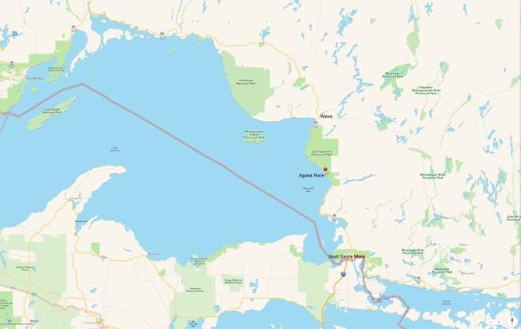 Agawa Rock -Lake Superior Provincial Park