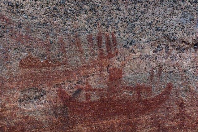 Artery Lake canoe picto
