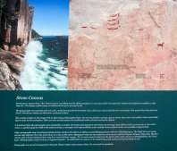 Info Board Explaining the Pictographs:Left half