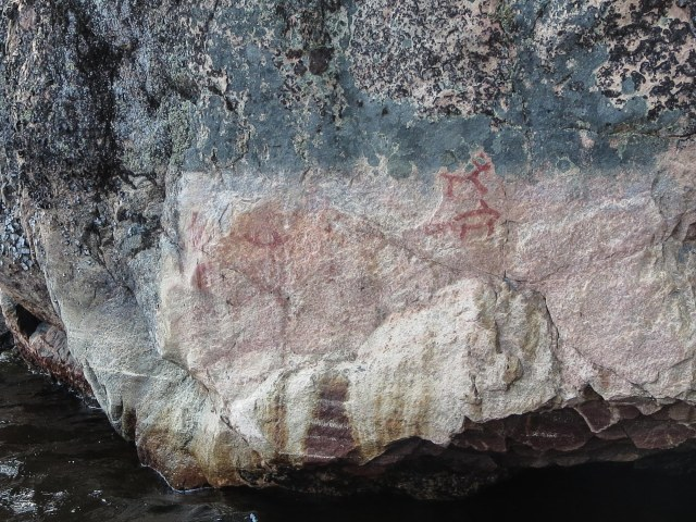 Murdock Lake east pictographs