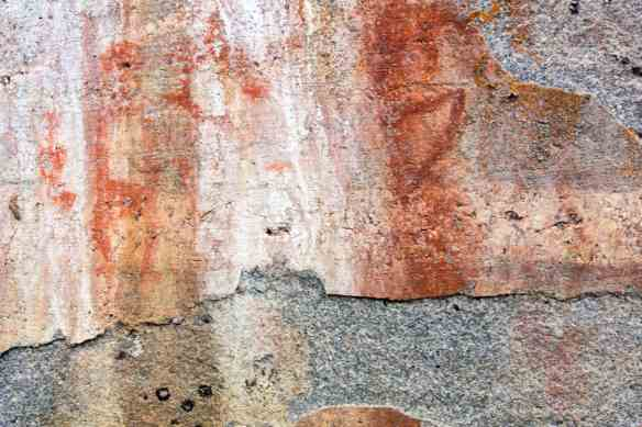 Artery Lake Face II pictograph detail
