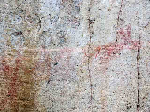 Artery Lake Pictograph Site - south end