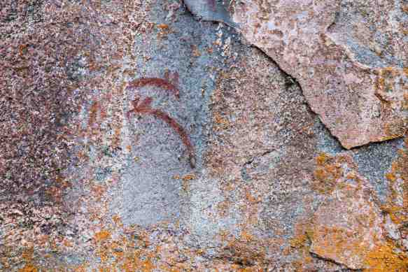 Artery Lake Pictographs - Face I
