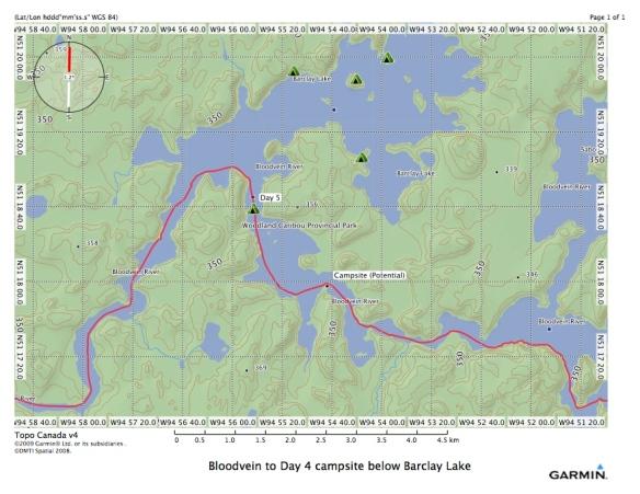 Bloodvein River - barclay lake area