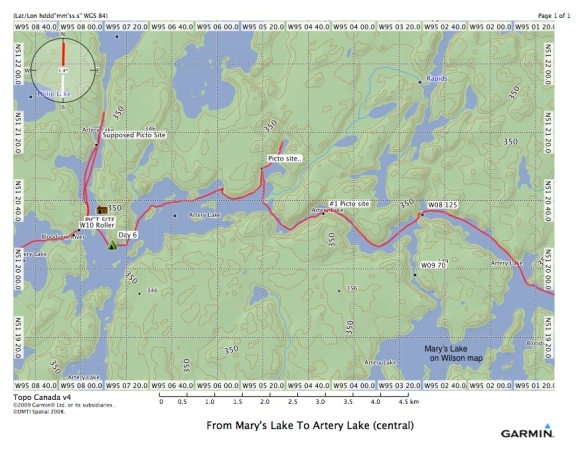 From Mary's Lake To Artery Lake (central)