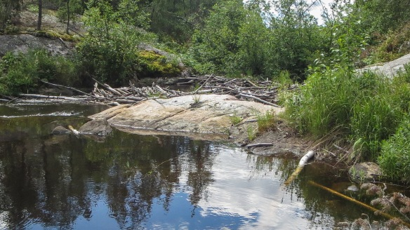 the end of A10 portage from Indian House Lake