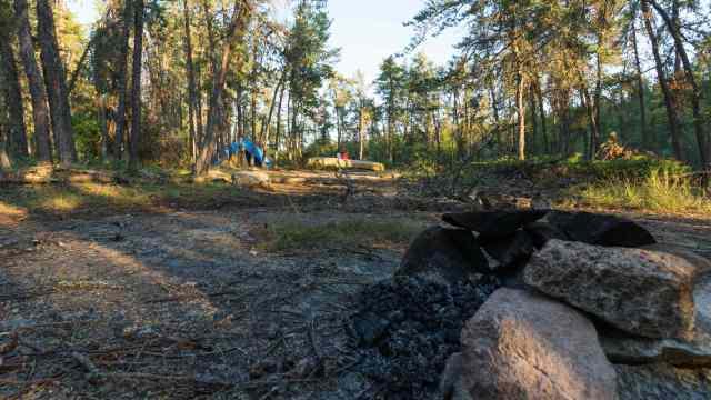 W26 campsite