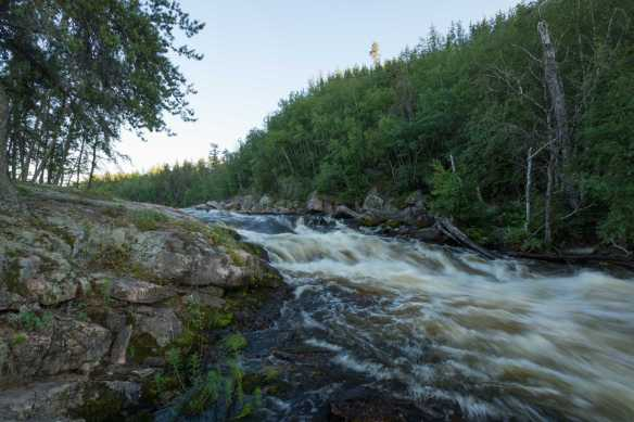 W26 falls on river left