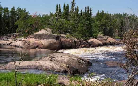 Ankuasi Falls - W79 on the Bloodvein River