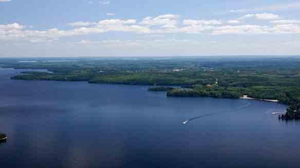 approaching Red Lake