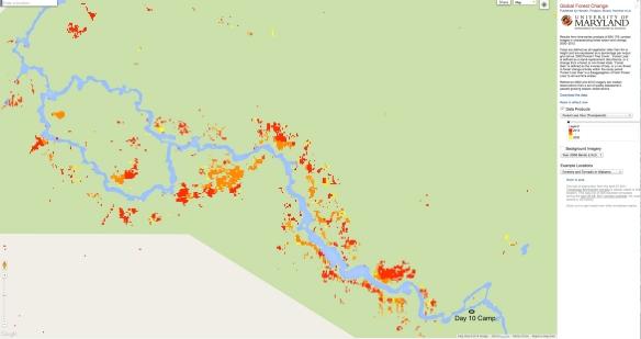 Bloodvein Burn Areas