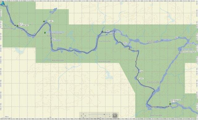 Day 15 - Namay Falls (W80) to Lagoon Run (W86)