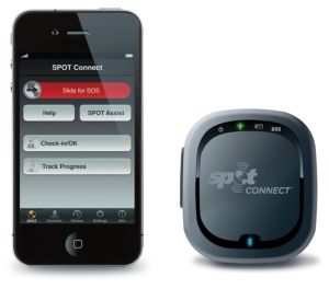 iphone and SPOT Connect