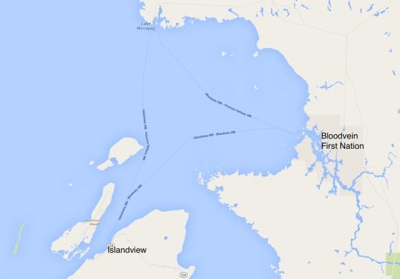 Islandview-Bloodvein area