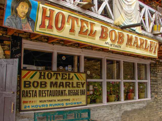 Muktinath and the Hotel Bob Marley