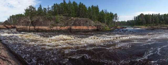 Namay Falls panorama