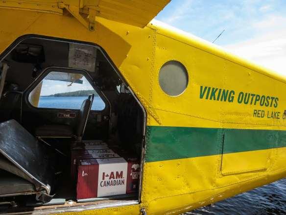 our Beaver's next emergency flight cargo into Woodland Caribou Park