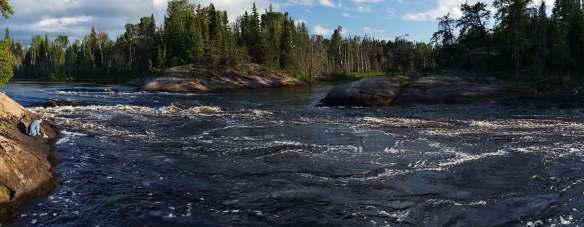 "panorama of the Bloodvein's W86 ""Lagoon's Run"""