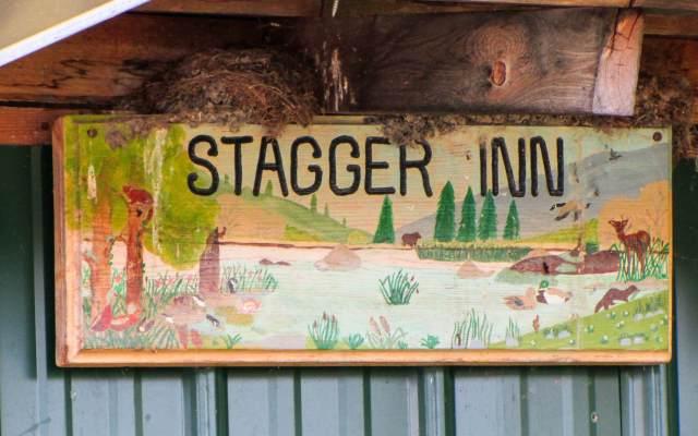Stagger Inn signboard