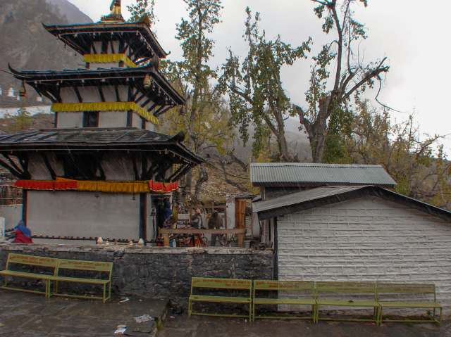 temple in Muktinath