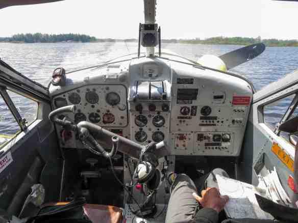 the de Havilland Beaver control panel