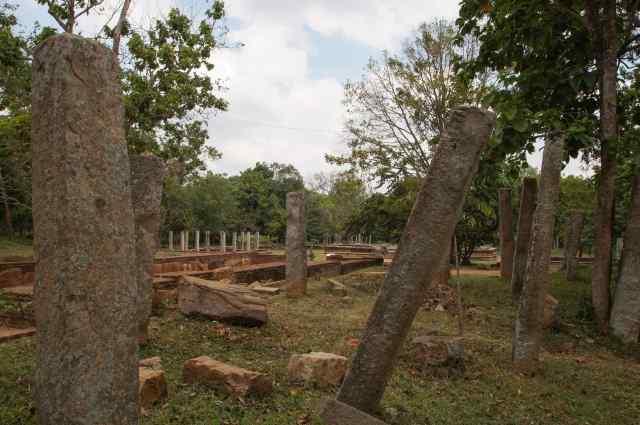 Abhayagiri Monastery ruins