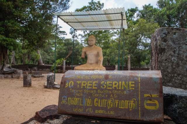 Abhayagiri Monastery- the second Samadhi Buddha statue