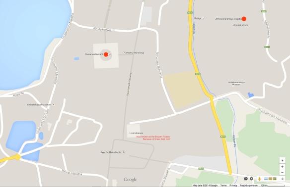 Mahavihara:Jetavana area