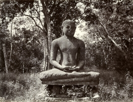 Samadhi Buddha (early 1900''s)  - note the broken nose