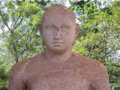 second samadhi staute - upper half