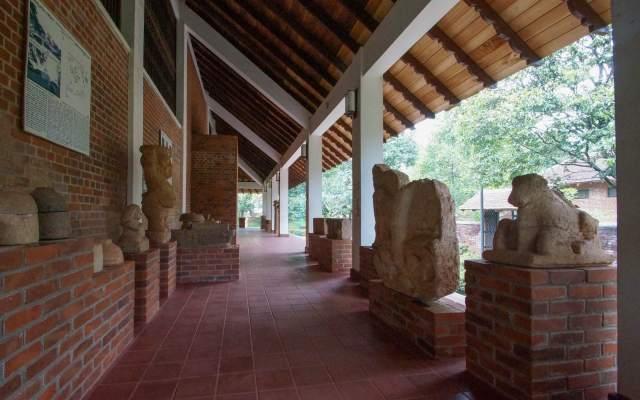 the Abhayagiri Museum
