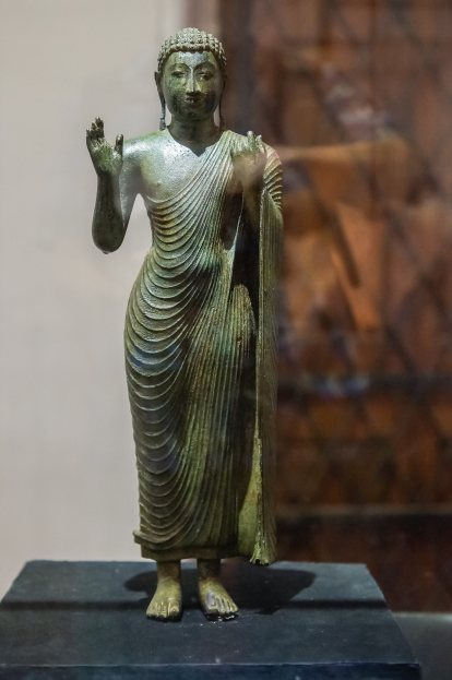 bronze solid cast - from Medavachiya near Anuradhapura - 9th C C.E.