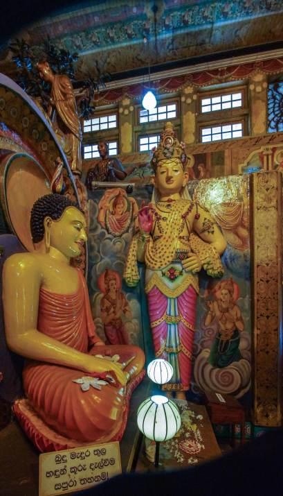Buddha and bodhisattvas - a different angle