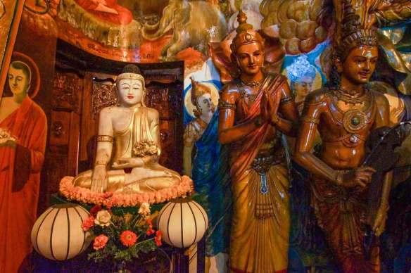 Chinese Buddha and bodhisattvas