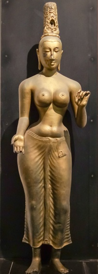 female standing Buddha figure - info not recorded
