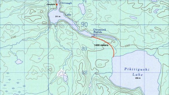 Pikitigushi River -  Gooseneck Rapids